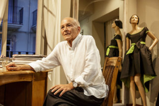 Josep Maria Garcia al seu estudi // Xavi Gómez Roig