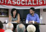 Alícia Romero i Xavi Paz al Casal d'Avis Primer de Maig // Jose Polo