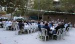 El pati de la Federació Obrera minuts abans dels sopar // Jose Polo