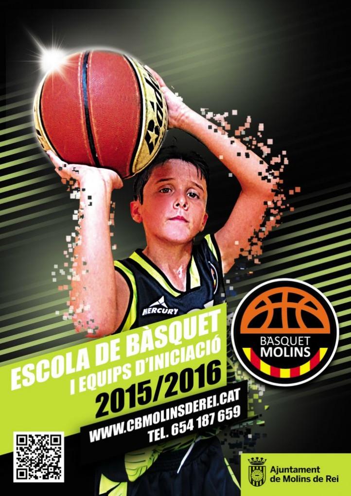 cartell escola basquet