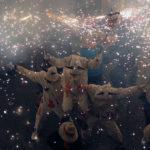 El correfoc de diables i bèsties de Festa Major, en imatges
