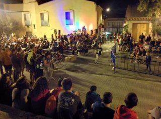 Imatges de la Cronoescalada des de la plaça // Ateneu Mulei