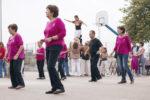 Alguns dels ballarins, en una exhibició // Ajuntament de Molins de Rei