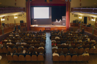 Un centenar d'empresaris s'han unit a la trobada de Networking // Ajuntament de Molins de Rei