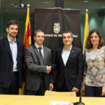 Aqualia i l'Ajuntament signen un conveni d'ajuts per pagar el rebut de l'aigua