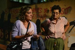Jéssica Revestido, en un moment de la seva intervenció // Elisenda Colell