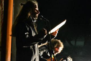 Adrià Sàbat, recitant Joan  Brossa // Elisenda Colell