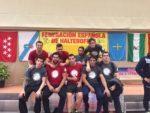 Imatge de l'equip del CH Molins de Rei a la Copa del Rei // CH Molins de Rei