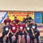 El Club Halterofília Molins de Rei supera les adversitats i és sisè d'Espanya