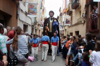 Els Gegants Nous incorporant-se a la Festa dels Miquels // Jose Polo