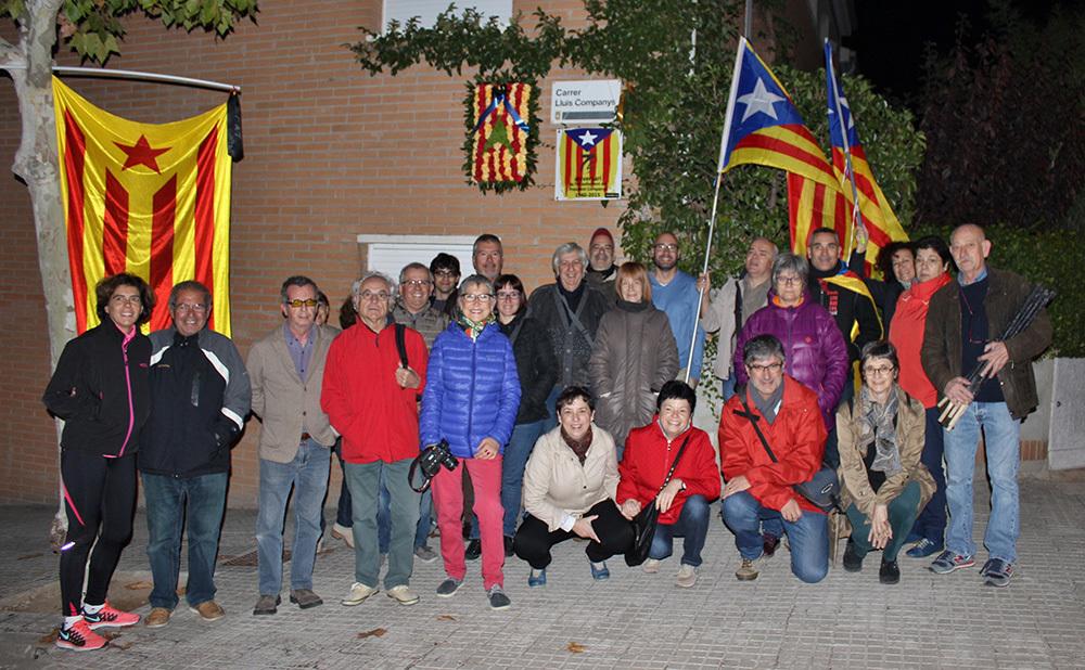 Foto de família dels participants en aquest homenatge // cedida per Jordi Romeu