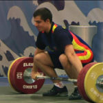 Marcos Ruiz aconsegueix la medalla de bronze en el Campionat d'Europa d'halterofília júnior