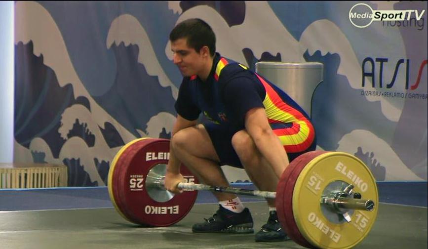 Marcos Ruiz en un moment de la competició // Media Sport