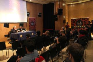 El festival es va presentar a un centre comercial de Barcelona, després de projectar alguns curts // Jordi Julià