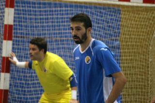 Àlex Sánchez Ajo va fer tres gols a la primera part // Jose Polo