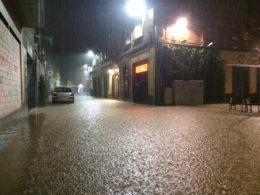 El Rafael Casanova inundat // David Guerrero