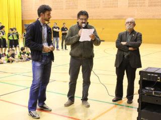 D'esquerra a dreta: Paz, Pujol i Guiu // Jose Polo