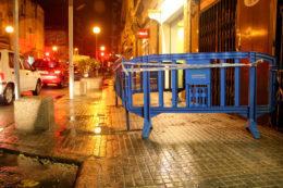 Punt del Pi i Margall on hi ha hagut el despreniment // Jordi Julià