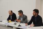 L'alcalde, Joan Ramon Casals (CiU), i el regidor de Cultura, Xavi Paz (PSC) es van comprometre a trobar un espai per homenatjar Companys // Jordi Julià