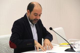 Enric Vila va donar un punt de vista crític de la biografia de Companys // Jordi Julià