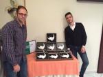 Siñol i Biel amb els 10 premis de Filagarsa // Filagarsa