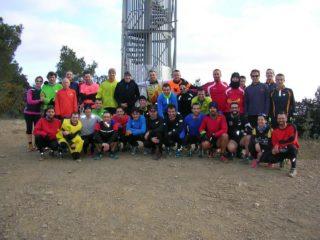 Atletes que van pujar al Puigmadrona el 2014 // ComeKM