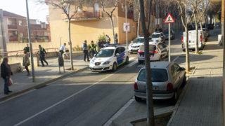 Imatge del dispositiu policial // cedida per la revista El Llaç