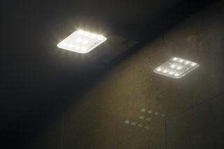 Imatge del nou enllumenat LED // Ajuntament de Molins de Rei