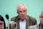 Pere García ICV últim ple municipal