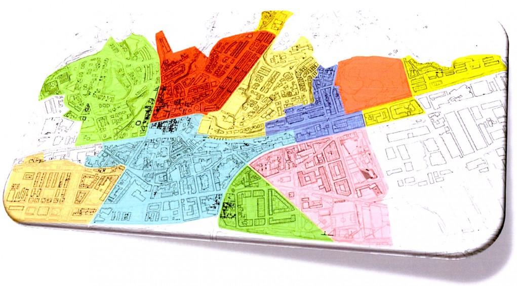 Descripció territorial dels barris // Ajuntament de Molins de Rei