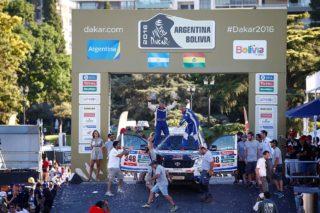 Xavi Foj i Nacho Santamaría al podi de Rosario // Foj Motorsport Coopertires