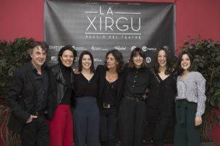 Imatge del photocall de l'estrena // Ajuntament de Molins de Rei