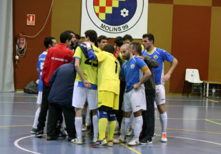 L'equip al final del partit // Jose Polo
