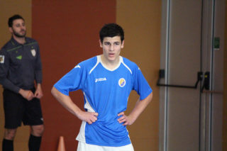 Victori va ser l'autor del gol del CFS Molins 99 // Jose Polo