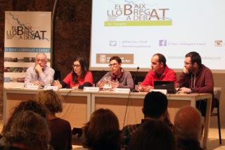 D'esquerra a dreta: Bofill, Sanz, Sellés, Llonch i Fosalva durant a La Gòtica // Jose Polo