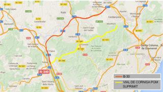 Mapa del Vial // Generalitat de Catalunya