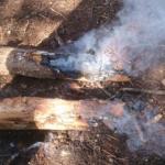 Petit incendi a prop de Can Campmany