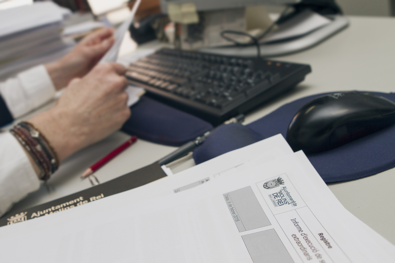 Imatge del servei de creació d'empreses // Ajuntament de Molins de Rei