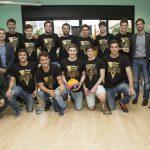 L'Ajuntament rep oficialment l'equip de waterpolo que ha pujat a Divisió d'Honor