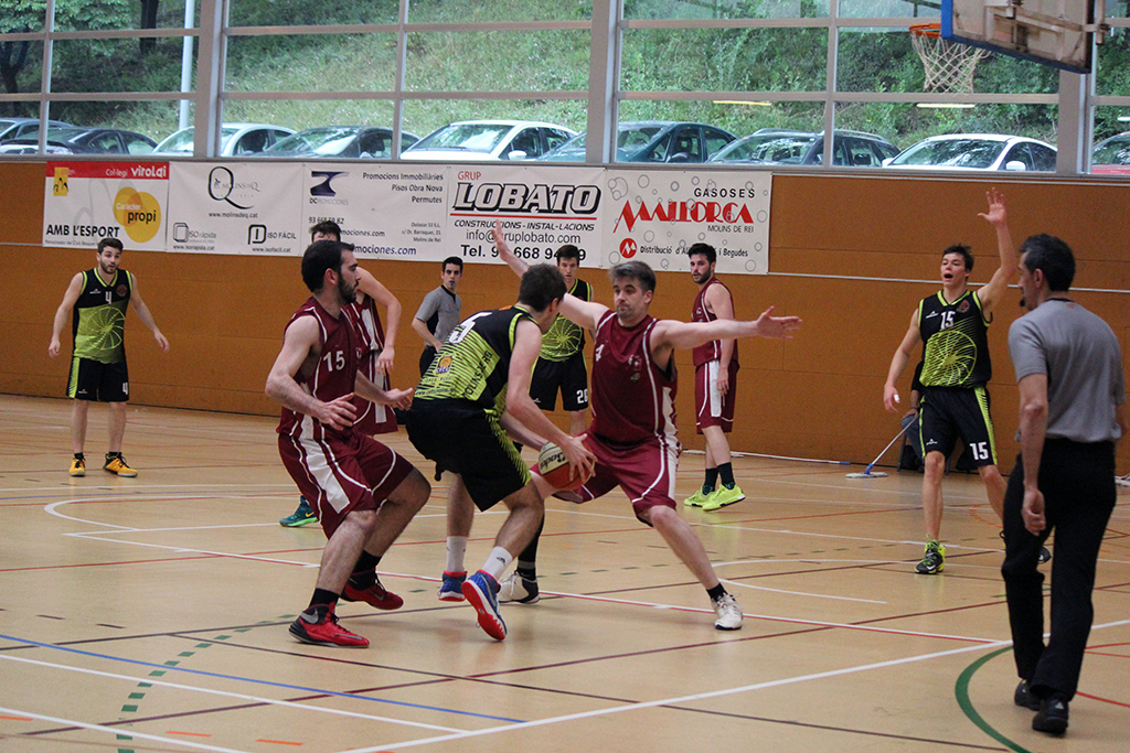 Moment del partit contra l'Alpicat // Jose Polo