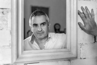 Albert Galera i un mirall bergmanià // Xavi Gómez Roig