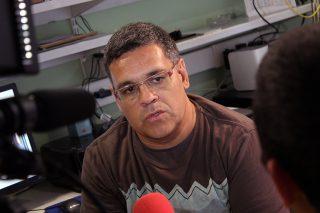 El periodista Josep Ferrer // Jose Polo