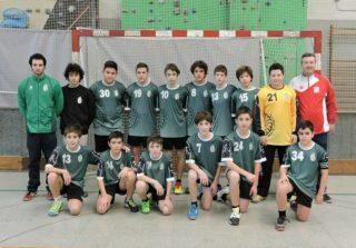 Foto de l'equip infantil del CE Molins de Rei // CE Molins de Rei