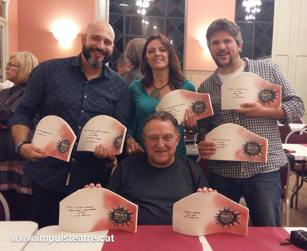 La companyia ha estat guardonada amb sis premis al concurs Taca'm // Impuls