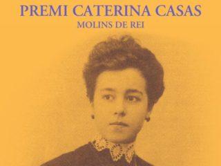 Cartell del premi Caterina Casas // ERC Molins de Rei