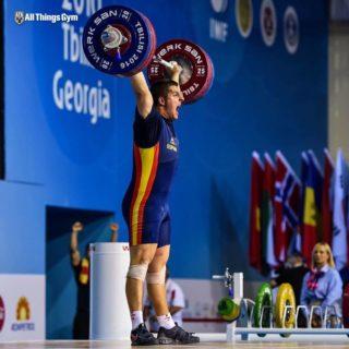 Marcos Ruiz durant la competició // Cedida