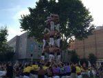 Els Matossers aixecant un dels castells en l'actuació del seu 14è aniversari // Matossers de Molins de Rei
