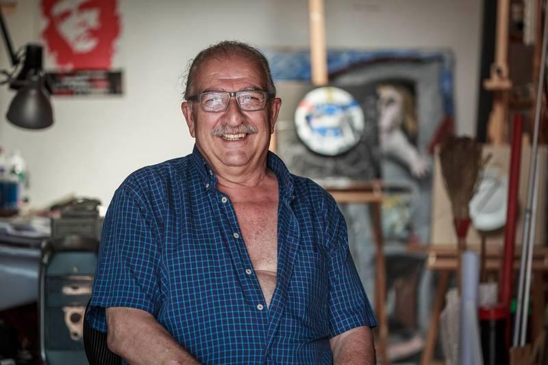 Alfred Bofill al seu estudi // Joan Gosa Badia