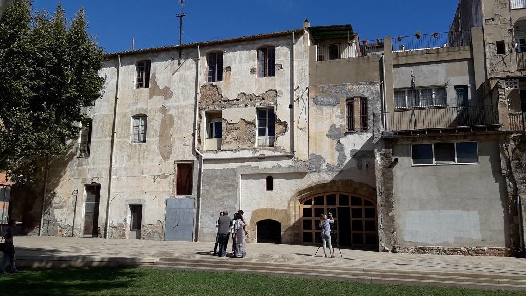 Façana del Palau dels Requesens // Jose Polo