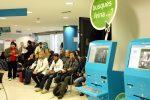 Ciutadans esperant torn a les oficines de treball de Catalunya.
